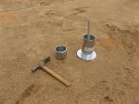 Badanie wskaźnika zagęszczenia metodą pierścienia wciskanego
